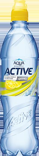 Аква Минерале Актив Цитрус 0,6 л