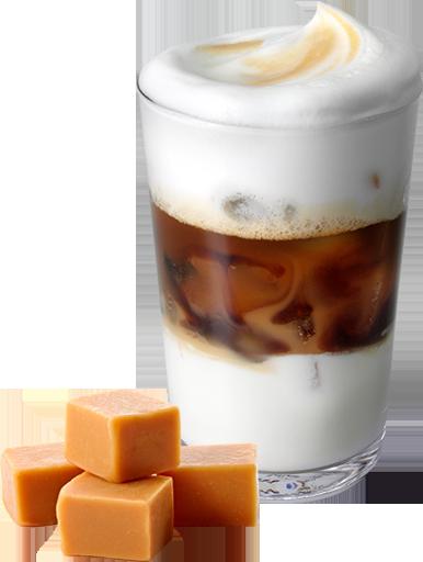 сколько стоит айс кофе в кфс